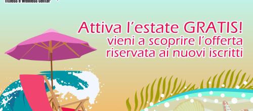 Attiva l'estate gratis